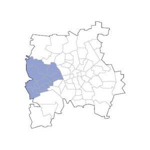 Stadtkarte Leipzig West