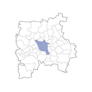 Stadtkarte Leipzig Mitte