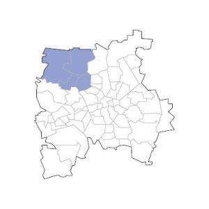 Stadtkarte Leipzig Nord-West