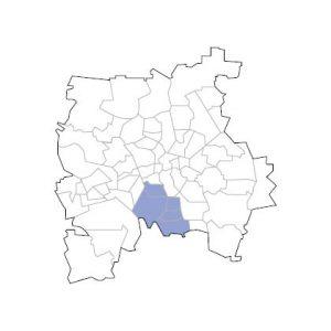 Stadtkarte Leipzig Süd