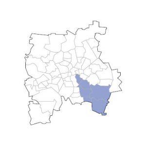 Stadtkarte Leipzig Süd-Ost